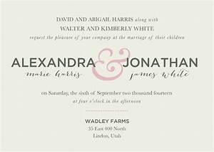 wedding invitation wording ideas theruntimecom With wedding invitation wording invite you to celebrate