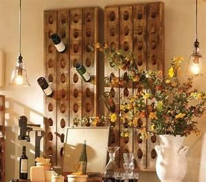 Support Bouteille Mural : le rangement bouteilles de vin concepts modernes ~ Carolinahurricanesstore.com Idées de Décoration