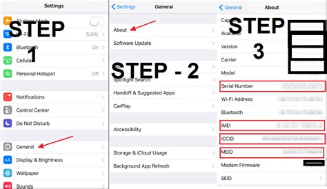 meid number iphone how to check imei number of iphone and find serial number