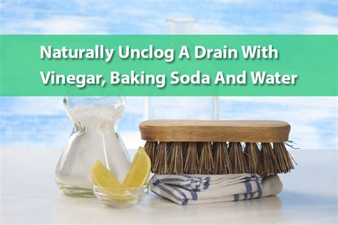 Unclog A Kitchen Sink With Vinegar And Baking Soda