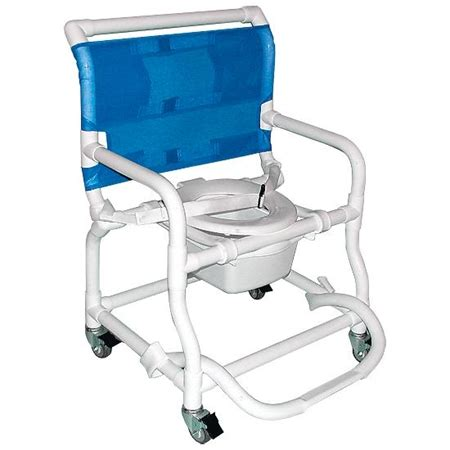 wide deluxe shower commode chair special needs