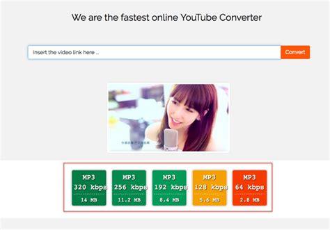 將 Youtube 轉為 Mp3 下載,提供各種音質選擇