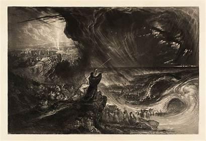 Martin John Destruction Bible Illustrations Host Pharoah