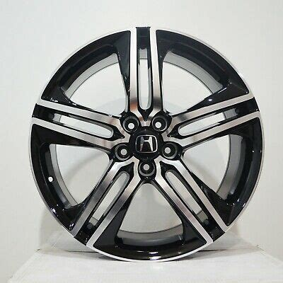 20 staggered giovanna wheels haleb gloss black with machined lip and tips rims. 4 BK997 20 inch Black Machined Rims fits HONDA ACCORD ...
