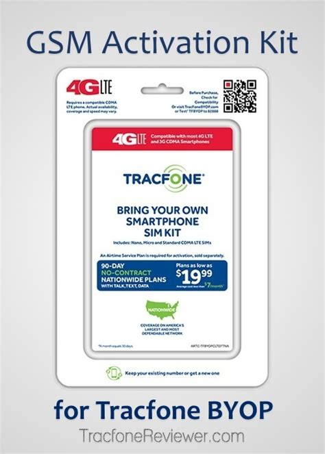 tracfone byop compatible phones tracfonereviewer gsm 4g lte activation kit for tracfone