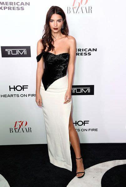 Emily Ratajkowski wears Cristina Ottaviano Dress : Harper ...