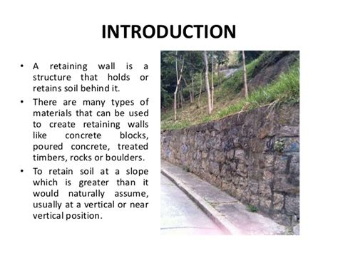 what is a retaining wall retaining walls