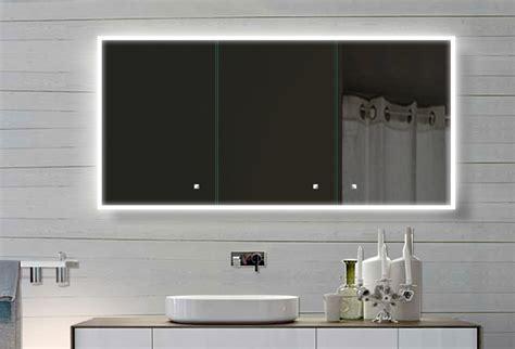 Lux-aqua Design Alu Badezimmer Spiegelschrank Mit