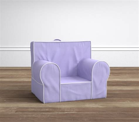Pottery Barn Anywhere Chair Knock by White Piping Anywhere Chair 174 Pottery Barn
