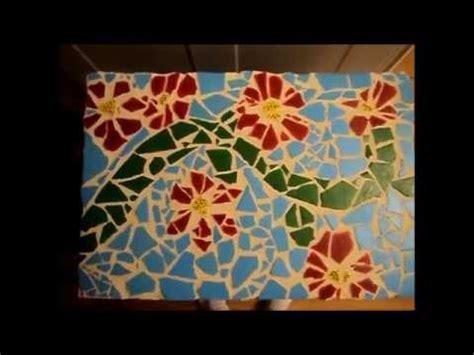 create  mosaic tile art piece youtube