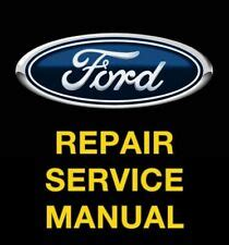 repair manuals literature  ford    sale ebay