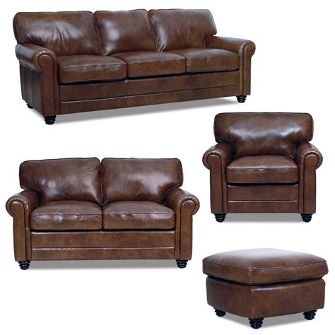 leather look sofa set new luke leather italian brown down sofa set sofa loveseat