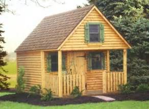 Shed with Playhouse Loft