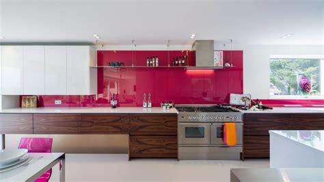 pink kitchen tiles очарователната кухня идеи за преобразяване 1503