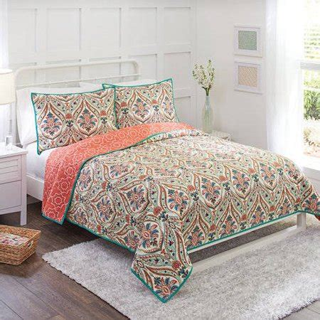 better homes and gardens bedding better homes and gardens jeweled paisley quilt collection