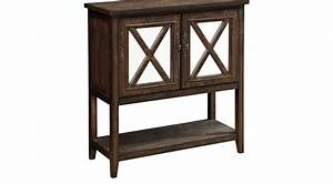 Marrone Brown Accent Cabinet - Traditional