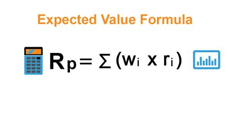 expected  formula calculator examples  excel