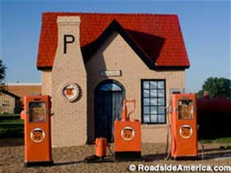 Restored 1929 Route 66 Gas Station, McLean, Texas