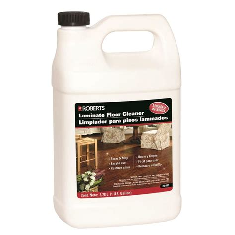Fabulon Floor Finish Home Depot 1 gal laminate and wood floor cleaner refill jug