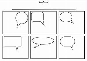 printable comic strip template pdf word pages calendar With comic strip bubble template