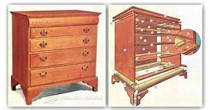 Drawer Dresser Plans • WoodArchivist