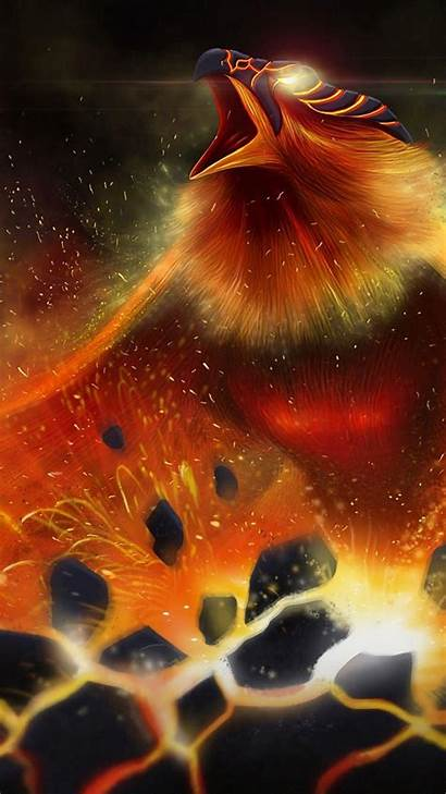 Phoenix Wallpapers Iphone Dark Cave Lovely Dragon