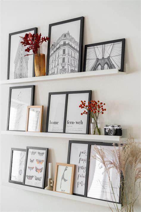 Fotowand Gestalten Tipps Wohndesign