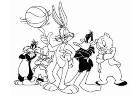 Lola Bunny Coloring Pages - Costumepartyrun