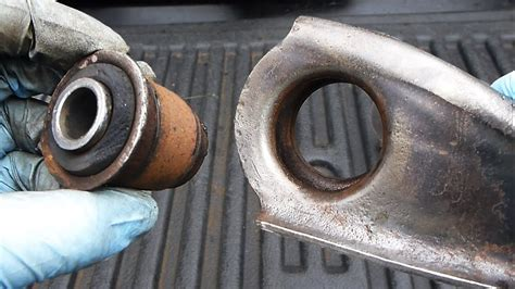 How To Replace Control Arm Bushings (easy) Youtube