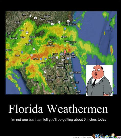 Florida Rain Meme - fl weather by caughtchalookin meme center