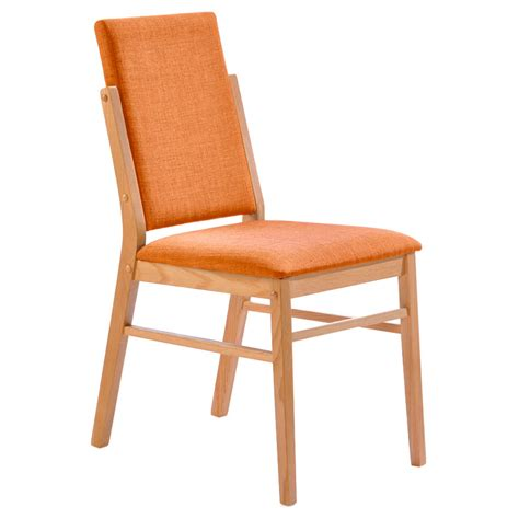 brunswick modern orange dining chair eurway furniture
