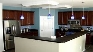 Kitchen wall colors with dark cabinets, kitchen with brick