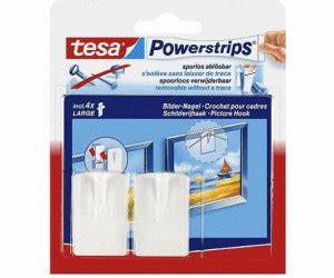 Tesa Bilder Aufhängen : tesa powerstrips bilder nagel wei 2 stk ab 2 95 preisvergleich bei ~ Orissabook.com Haus und Dekorationen