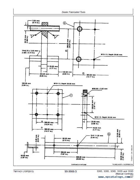 450c Wiring Diagram by Deere 326d 328d 329d 332d 333d Pdf Tm11431