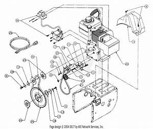 Mtd 31ae633e401  1999  Parts Diagram For Engine And V