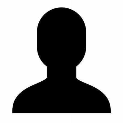 Silhouette Head Person Icon Clipart Clip Gender