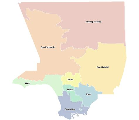 Service Los Angeles by Census Los Angeles County Gis Data Portal