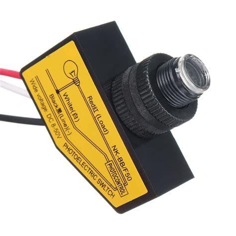 other electrical supplies 8 50vdc photocell sensor daylight dusk to sensor photoelectric