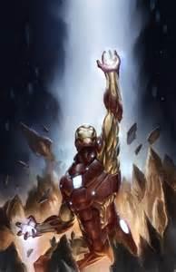 Iron Man Comic Illustration