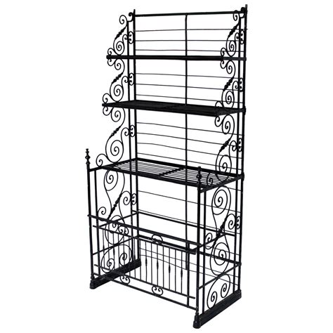 wrought iron bakers rack large wrought iron bakers rack for at 1stdibs
