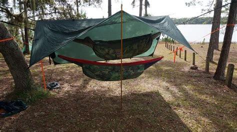 ways to hang a hammock three easy ways to turn hammock shelters into a hammock