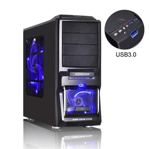 bureau informatique en verre advance usb 3 0 boîtier pc advance sur ldlc