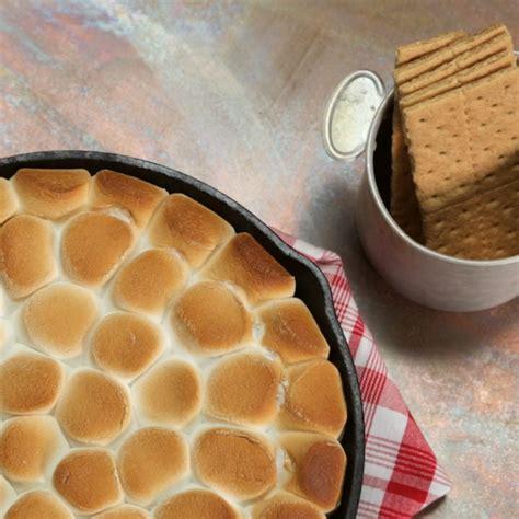 recipes with nutella nutella s mores dip recipe myrecipes