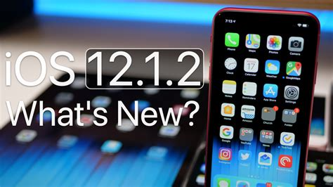 iOS 12.1.2 is Out! – What's New? | Ios, Whats new, Iphone