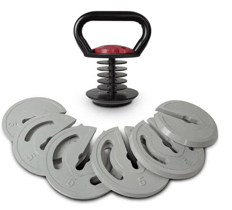 kettlebell adjustable titan fitness 5lb 35lb lb weight