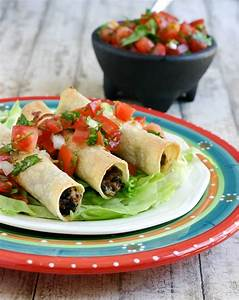 eclectic recipes black bean chicken taquitos eclectic