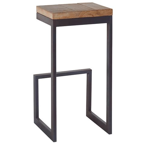 bureau rond tabouret haut en sapin massif collection westmount