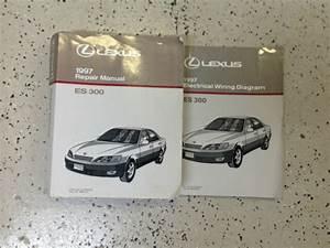 1997 Lexus Es300 Es 300 Service Repair Manual Book Set W