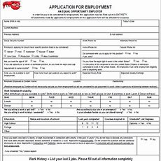 Pin By Diy Home Decor On Job Application Forms  Job