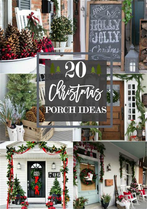 beautiful christmas porch ideas diy christmas decorating